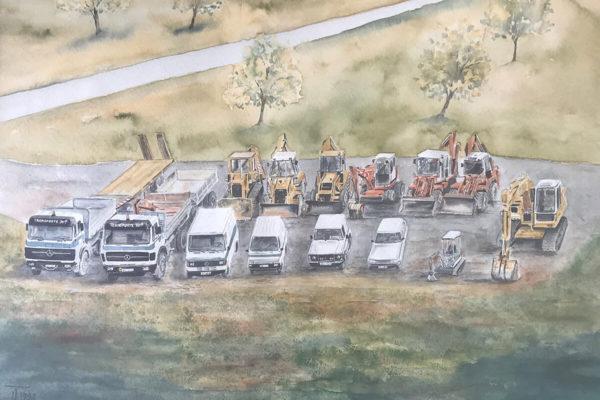 Erdbau Transporte Zarfl Geschichte (13)