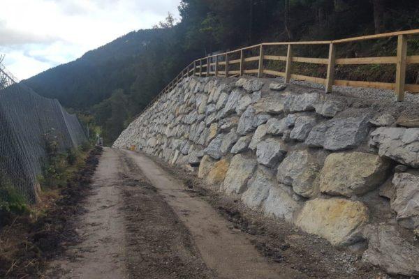 Zarfl Erdbau Steinmauern